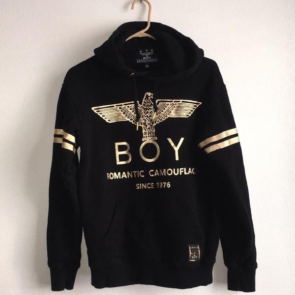 a03e5f45cb43 Boy London Sweaters - Unisex Boy London Black Pullover hoodie